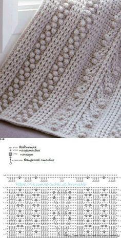 New crochet mantas patrones ganchillo Ideas Crochet Motifs, Crochet Diagram, Crochet Stitches Patterns, Crochet Chart, Crochet Doilies, Knitting Patterns, Free Crochet, Crochet Lace Scarf, Crochet Cable