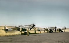 Spitfires Mk.IXe, South African Air Force, 1950