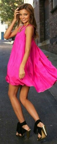 Pink dress to die for!!