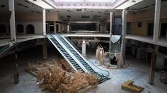 Located in Akron, the Rolling Acres Mall was a retail mall built in 1975. It was once home to over 140 stores, but it closed in 2008. It is set to be demolished any day.