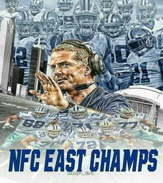 Cowboys run the East; now, lets let's run the Super Bowl You got this! #CowboysForTheWin