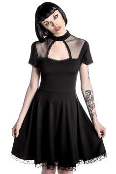 Draculana Skater Dress [B] | KILLSTAR