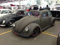 Rat rod VW beetle rag top