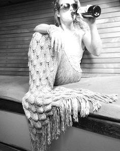 It's basically Friday Mermaid Blankets, Mermaid Tail Blanket, Water Nymphs, Yarn Bombing, Drinking, Wonderland, Friday, Ocean, Magic