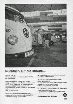 VW-Post Werbung