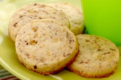 Hazelnut Shortbread Refrigerator Cookies -Try this yummy recipe I ...