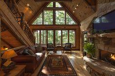 Hemlock Hideaway | Cabin Rentals of Georgia - Main Floor Living Area
