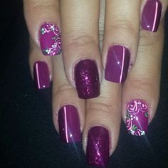 Nails by MISSY CONWAY at AM ARDENT AFFAIR SALON vis, ca