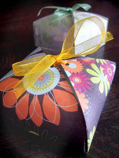 Pretty DIY gift-box.