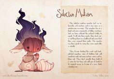8 ilustrações retratam transtornos mentais como monstros - Mega Curioso
