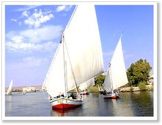 Enjoy Nile and Egypt by boarding a Dahabeya........