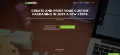 #packaging #design #webdesign Create your #custom #packaging online with Packly!! http://pack.ly