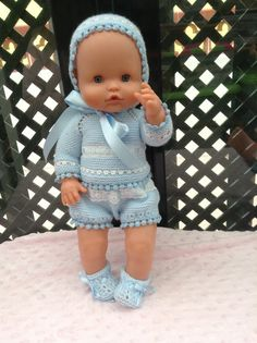 Celeste II Knitting Dolls Clothes, Baby Doll Clothes, Crochet Doll Clothes, Baby Dolls, Bitty Baby, Baby Born, Soft Dolls, Reborn Dolls, Diy Doll