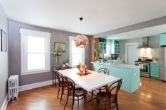 Open Plan Kitchen and Dining Room Design ldeas