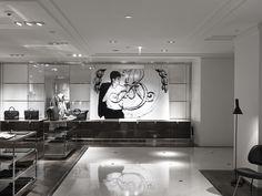 Le Bon Marché, Menswear department store. http://escalierc.com/