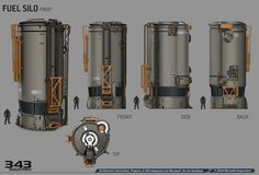 ArtStation - UNSC props, David Bolton