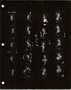 1970s SEXY AMATEUR MODELS--MILITARY CIRCLE, NORFOLK--SET 2 //  4 CONTACT SHEETS