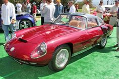 FAB WHEELS DIGEST (F.W.D.): 1959 Alfa Romeo 6C 3000 CM Superflow IV Prototype