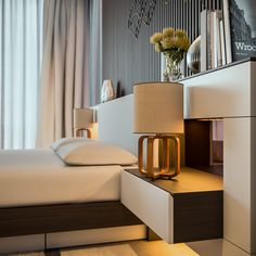 The bedroom is a place to relax, to be pampered, and to be romantic. With the average person spending thirty percent of their life asleep, why not make your bed