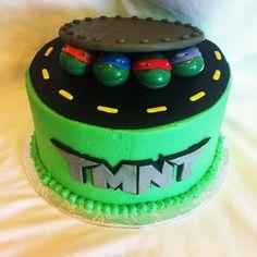 Simply Delicious Cakes: Ninja Turtle Cake