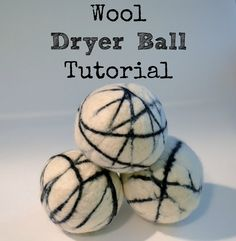 {Tutorial} Make Your Own Wool Dryer Balls