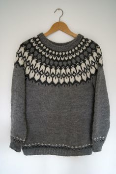 Icelandic Yoke Sweater