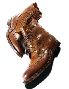 Wingtip boots from Allen Edmonds — an elevated take on a timeless design
