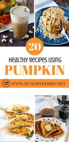 Here are 20 Healthy Pumpkin Recipes that just happen to be gluten-free. From breakfast to dessert this roundup has you covered with homemade versions of your favorite pumpkin treats! Recipe Using Pumpkin, Pumpkin Recipes, Gluten Free Pumpkin, Healthy Pumpkin, Gourmet Recipes, Real Food Recipes, Cooking Recipes, Thanksgiving Recipes, Fall Recipes