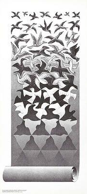Bild:  M.c. Escher - Befreiung 20