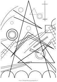 Free Coloring Pages Of Kandisky for Kandinsky Coloring Pages Pattern Coloring Pages, Free Coloring Pages, Wassily Kandinsky, Kandinsky For Kids, Art Worksheets, Art Club, Art Plastique, Famous Artists, Art Lessons