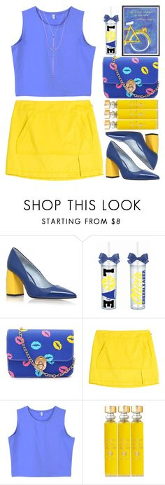 """""""Monday Morning"""" by grozdana-v ❤ liked on Polyvore featuring Chiara Ferragni, Marc by Marc Jacobs, Acqua di Parma and Lana"""