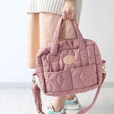 Juego de bolsas cambiador de pa/ñales negro rosa