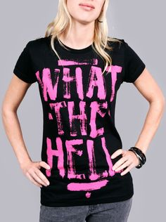 Avril Lavigne What the...T-Shirt :)