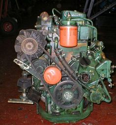 Used Diesel engine Up to Deep Fishing, Marine Diesel Engine, Pedal Boat, Boat Engine, Arrow Keys, Close Image, Volvo, Sailing, Engineering