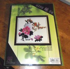 Huatian Symbolic Flower of Life Counted Cross Stitch Kit NEW $12.50