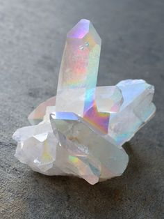 Angel Aura Quartz Cluster • 141.3g