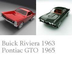 Riviera Pontiac Gto 3D Model - 3D Model