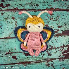 Lily! . . . #handmade #handmadewithlove #handmadedoll #handcraft #craft #crochet #crochetlove #crocheting #crochetdoll #crochetpattern #amigurumi #amigurumidoll #amigurumipattern #häkeln #häkeltiere #häkelanleitung #häkelnisttoll #coloryourlife #thehappynow #etsy #etsyshop #etsyseller #butterfly #schmetterling #crochettoy #vintage #shabbychic #prenzlzwerg #berlin @scheepjes