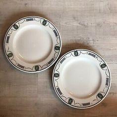 Vtg Salad Plate Lot Restaurantware Francis Scott Key Hotel Barbara Fritchie  | eBay