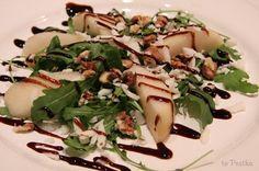 to Pestka! - blog nie tylko kulinarny: Przystawka - gruszka na rukoli