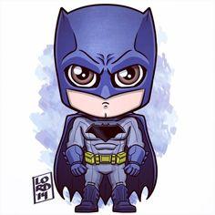 Chibi batman by lordmesa Batman Meme, Im Batman, Batman Art, Marvel Art, Marvel Dc Comics, Chibi Superhero, Chibi Marvel, Batman Chibi, Ben Affleck Batman