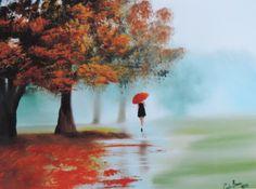 #rainyday painting with a red umbrella print http://www.ebay.co.uk/itm/182201557944?ssPageName=STRK:MESELX:IT&_trksid=p3984.m1555.l2649 … Gordon Bruce art (@gordonbruceart) | Twitter