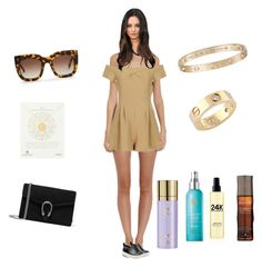 """""""Untitled #2454"""" by rine23 ❤ liked on Polyvore featuring Cosabella, Love, STELLA McCARTNEY, Marc by Marc Jacobs, Cartier, Dogeared, Gucci, Thierry Mugler, Moroccanoil and Sally Hershberger"""