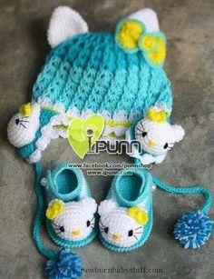 Crochet Baby Booties ;-)...