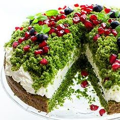 Snack Recipes, Cooking Recipes, Snacks, Shrek Cake, Crunch, Sweet Bakery, Types Of Cakes, Polish Recipes, Sweet Tooth