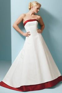 about wedding dresses with red trim on pinterest red wedding dresses