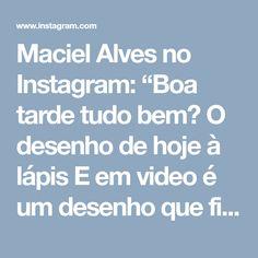 """Maciel Alves no Instagram: """"Boa tarde tudo bem? O desenho de hoje à lápis E em video é um desenho que fiz da linda @meljoyhysteric Adorei e postarei o digital em…"""" • Instagram"""