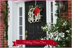 Amy's Holiday Open House Tour at 11 Magnolia Lane