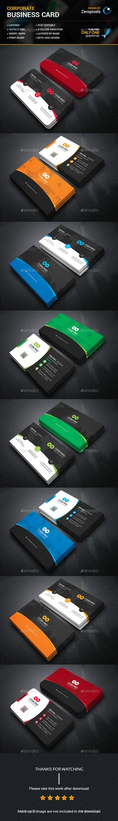 Corporate business card photoshop psd white pack available corporate business card photoshop psd white pack available here httpsgraphicriveritemcorporate business card15689158refpxcr pinterest fbccfo Gallery