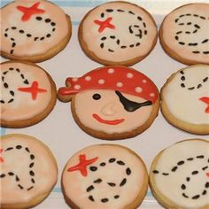 Treasure Map biscuits